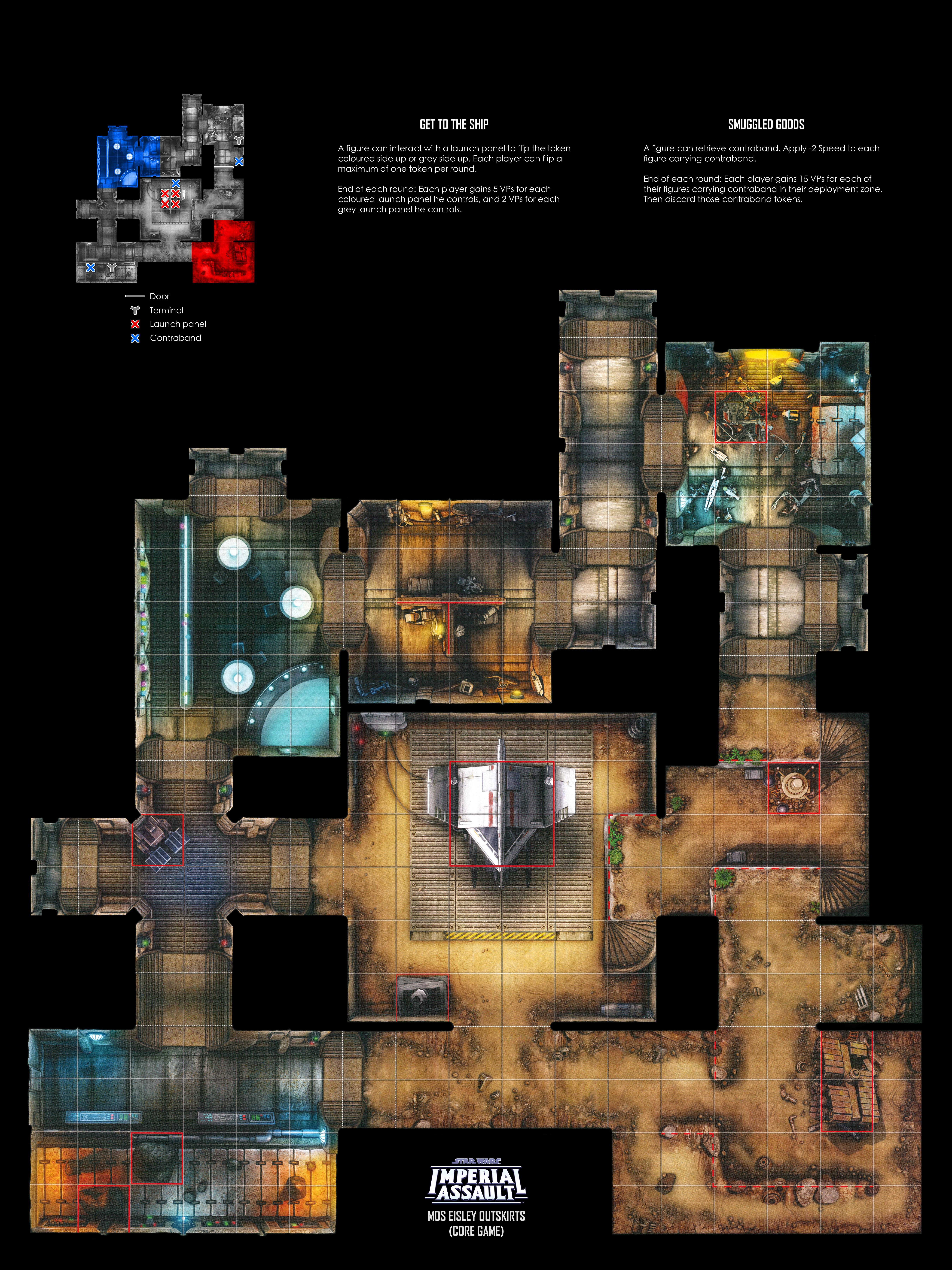 Ibshs Printable Imperial Assault Skirmish Maps
