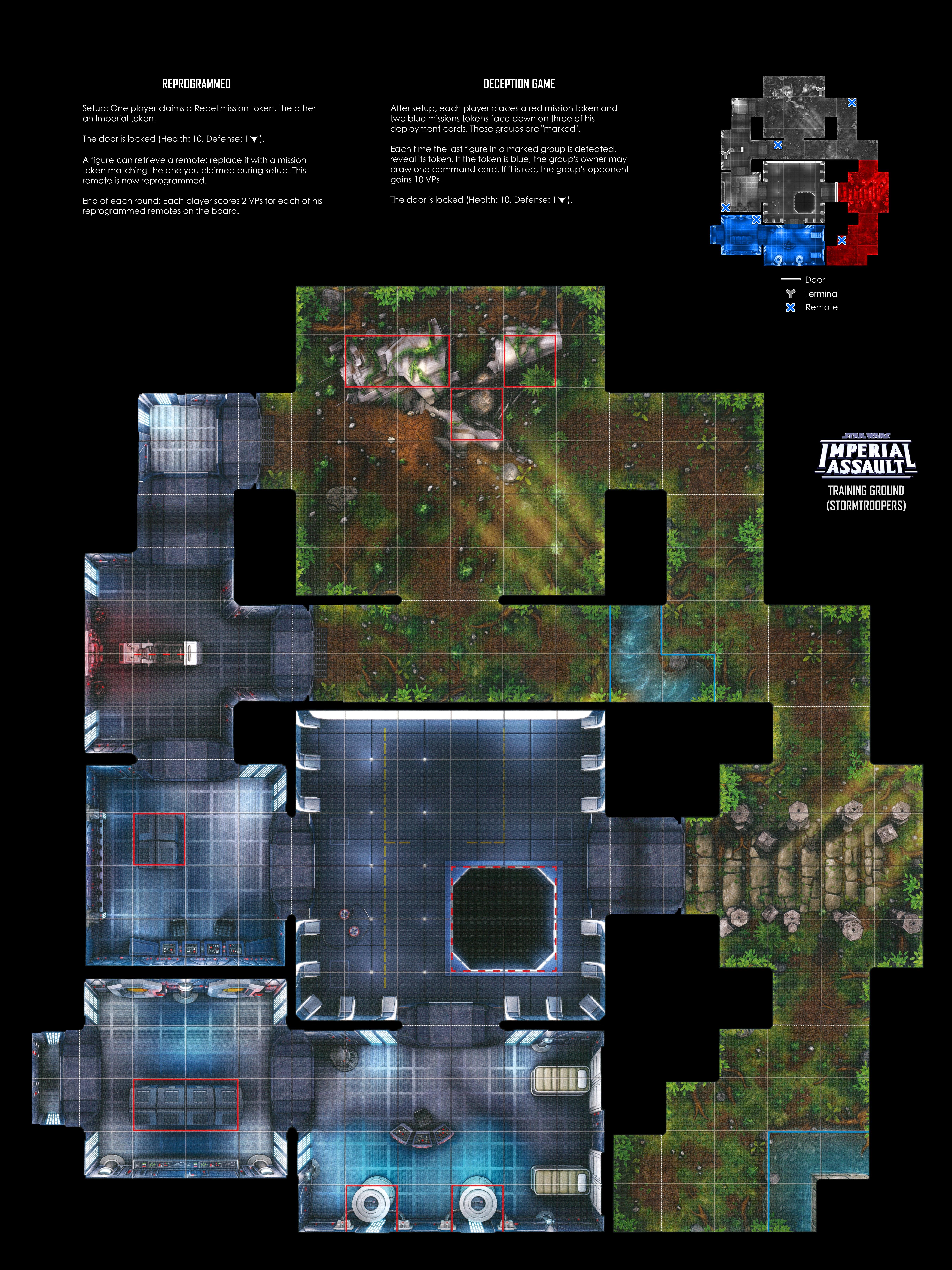 Ibsh's printable Imperial Assault Skirmish Maps